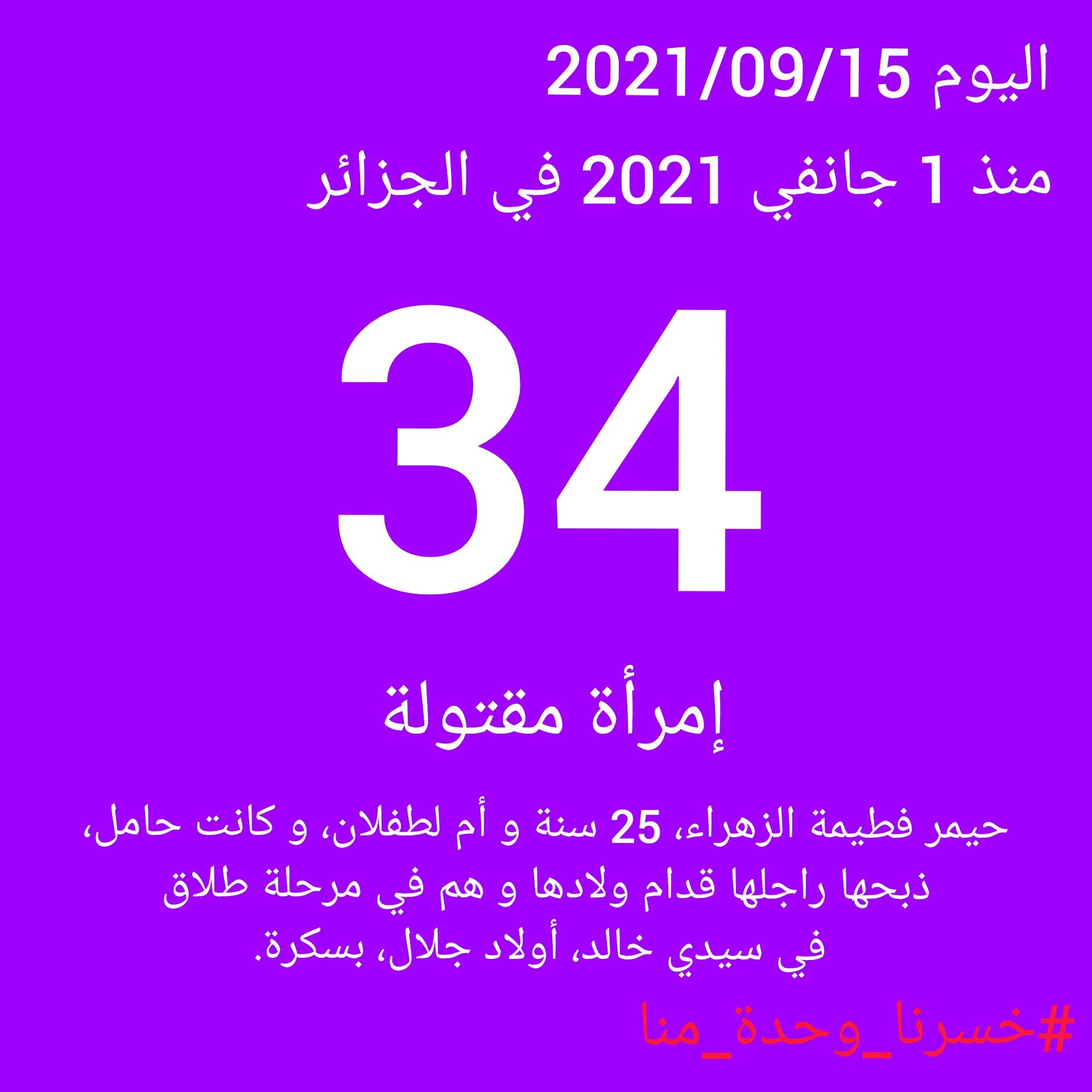 Féminicides en Algérie